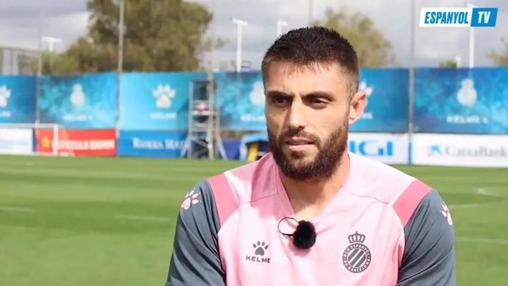 David López espera que el triunfo ante el Madrid sea solo uno de tantos. Captura/EspanyolTV