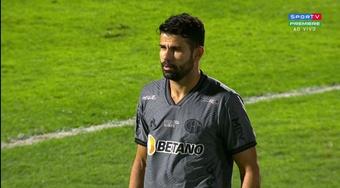 El 'Lagarto' ya repta por Brasil: ¡Costa debutó con Mineiro! Captura/SportTvPremiere