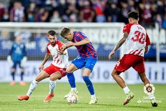 El Eibar logró una imporante victoria ante el Almería. LaLiga