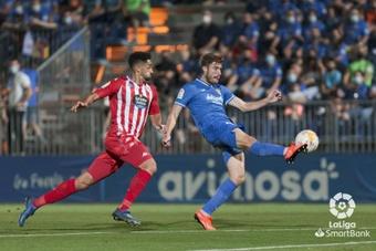 El Fuenlabrada no pasó del empate a uno contra el Lugo. LaLiga