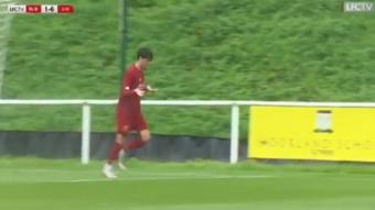 Layton Stewart, renovado por el Liverpool con tan solo 18 años. LiverpoolFC