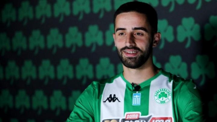 Antonio Xavier podría llegar cedido al Estoril. Captura/PanathinaikosFC