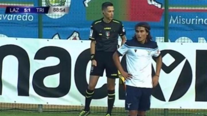 La Lazio pasó por encima de la Triestina en el debut de Luka. Captura/LazioStyle