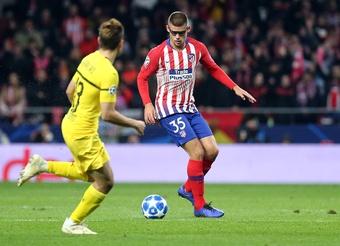 Montero a um passo do Besiktas.AtleticoDeMadrid/Álex Marín