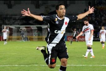 Vasco da Gama venció 2-1 a Ceará. EFE/Archivo