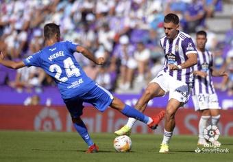 El Valladolid encadenó su segunda derrota consecutiva. LaLiga