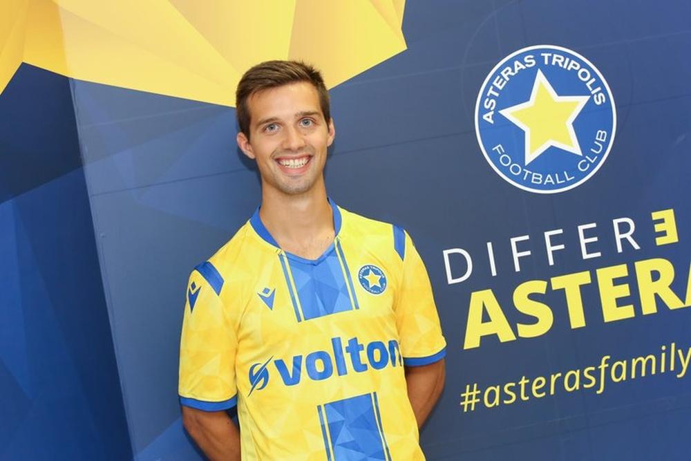Eneko Capilla jugará en la Liga Griega. AsterasTripolis