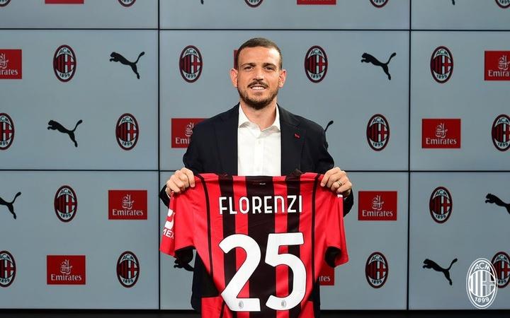 Alessandro Florenzi débarque à l'AC Milan. acmilan