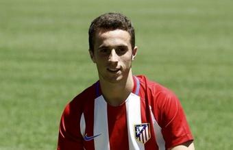 Diogo Jota fichó por el Atlético de Madrid en 2016. EFE