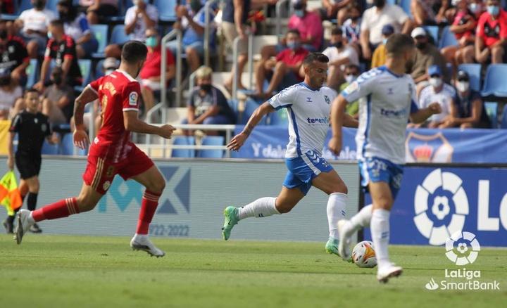 El Tenerife venció por 2-0 a la Ponferradina. LaLiga