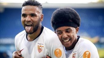 En-Nesyri et Koundé retouvent le chemin de l'entrainement.