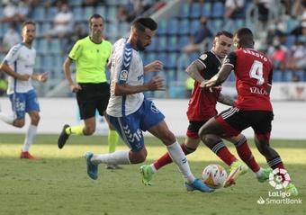 El árbitro del Tenerife-Mirandés se disculpó con Enric Gallego. LaLiga