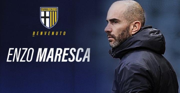 Maresca entrenará al Parma en Serie B. 1913ParmaCalcio