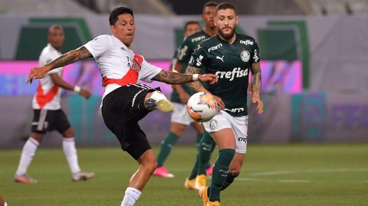 Enzo Pérez y Héctor Martínez podrían estar disponibles para el encuentro ante San Lorenzo. EFE