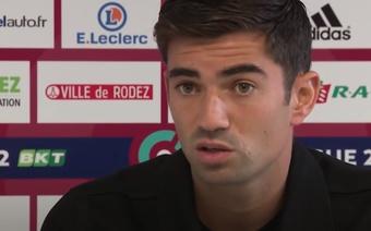 Enzo Zidane habló sobre su situación actual. Captura/France3Occitanie