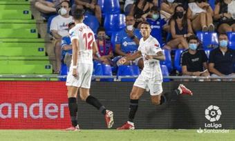 El Sevilla no pasó del empate. LaLiga