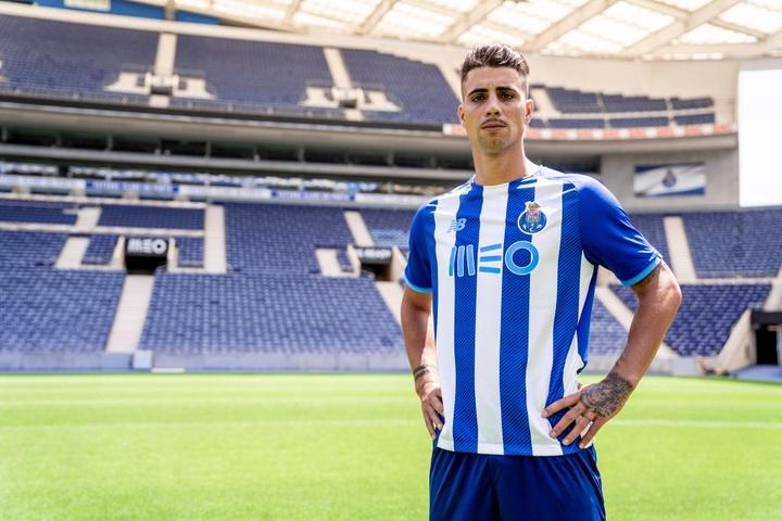 Fábio Cardoso, nuevo jugador del Oporto. Twitter/FCPorto