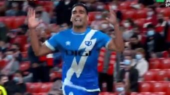 Rayo Vallecano vence com gol de Radamel Falcao aos 96 minutos. DirecTVSports