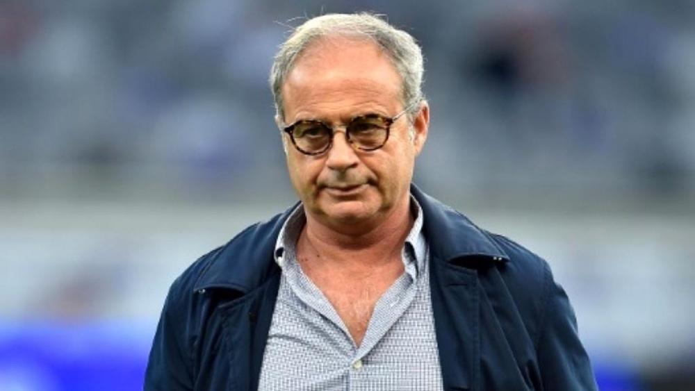 Luis Ocampos fue técnico del Lille hasta el pasado verano. AFP