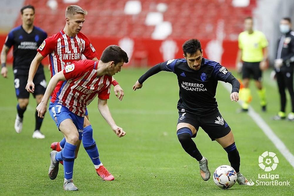 Guille Rosas jugó 22 partidos durante la pasada temporada. LaLiga