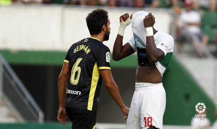 Sory Kaba ya jugó en la Liga Española: en el Elche. LaLiga