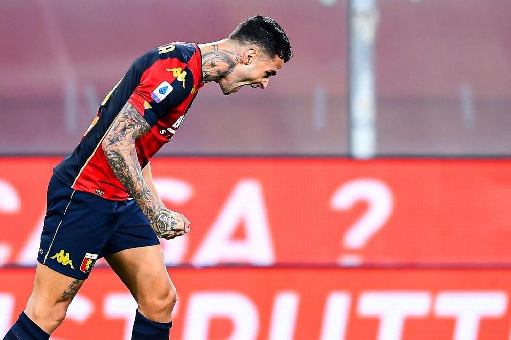 Gianluca Scamacca, obiettivo dell'Inter per il mercato invernale. EFE