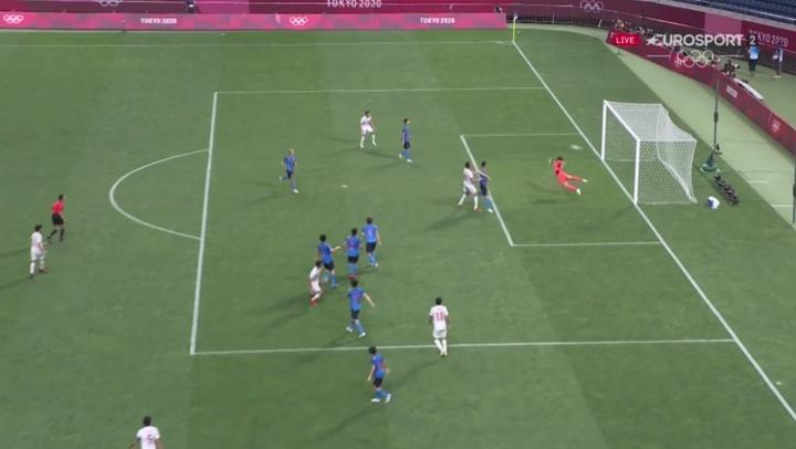 Asensio marcó el gol de la victoria. Captura/Eurosport