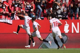 El Sevilla se dio un atracón a costa del Levante. LaLiga