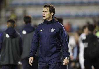 Guillermo le pidió a sus jugadores que den todo contra Cruzeiro. BOCA