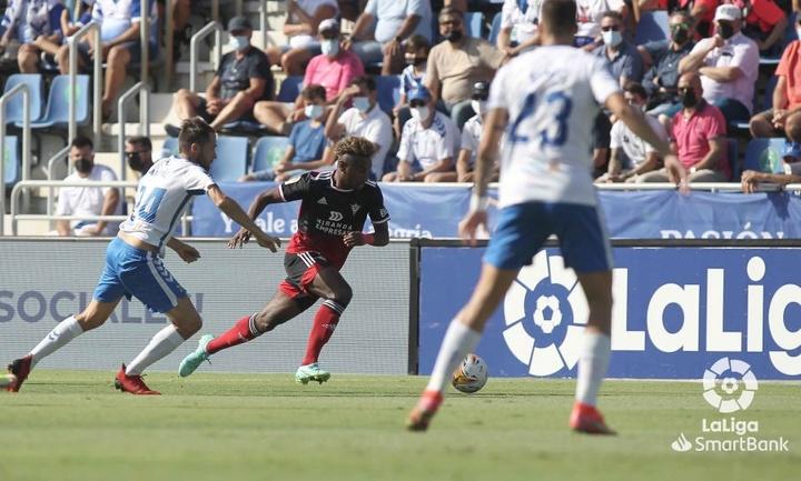 El Tenerife y el Mirandés se enfrentaron en la sexta jornada de Segunda División. LaLiga