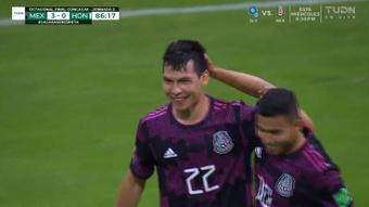 México venció por 3-0 ante Honduras. Captura/TUDN