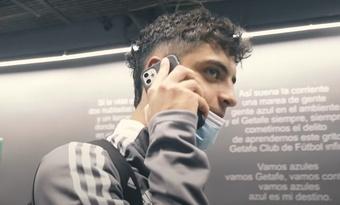 Hugo Álvarez debutó con el Celta. Captura/CeltadeVigo