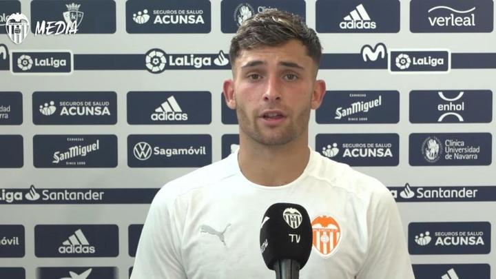 Hugo Duro no se arrepiente de su decisión. EFE