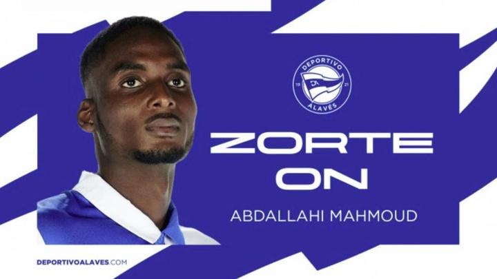 Abdallahi debutó en el primer equipo albiazul en la temporada 2019-20. DeportivoAlavés