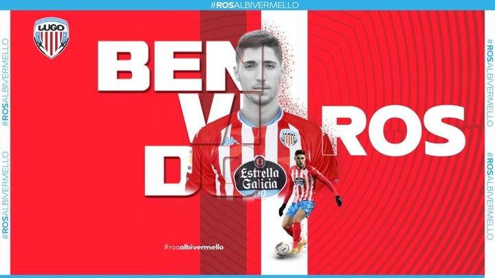 El nuevo jugador 'albivermello' ha firmado para las dos próximas temporadas. CDLugo