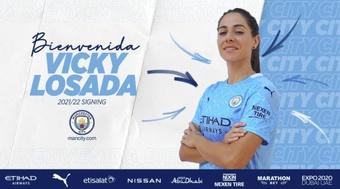 Vicky Losada aterriza en el City tras 16 temporadas en el Barça. ManCity