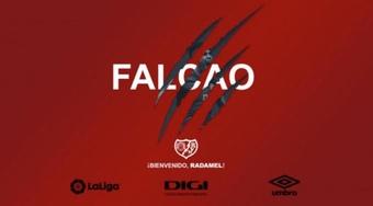 Falcao firma con il Rayo Vallecano. Rayo