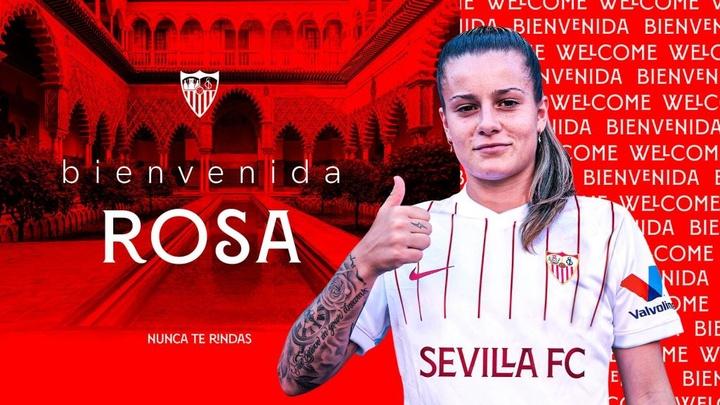 Mercado no futebol feminino.Twitter/SevillaFCFemenino