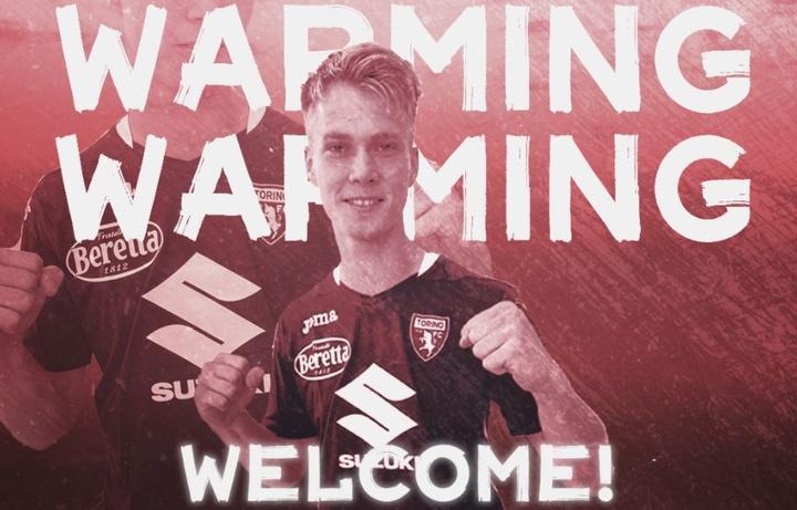 Ha firmado hasta 2024 con opción a una temporada más. TorinoFC