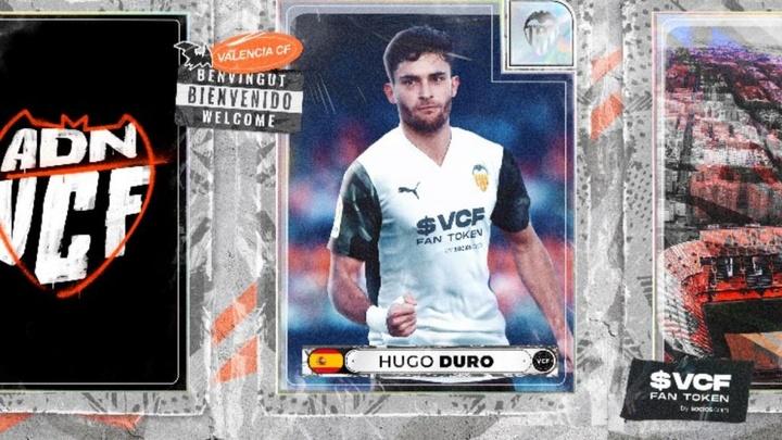 Hugo Duro, nuevo jugador del Valencia. ValenciaCF