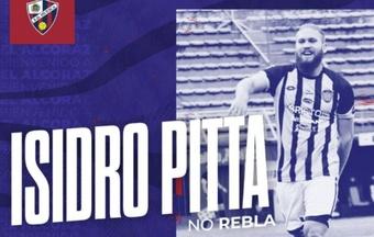 Isidro Pitta ha firmado hasta 2025. SDHuesca