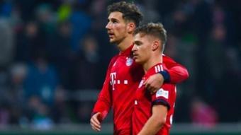 Goretzka falou sobre a sua renovação com o Bayern. AFP