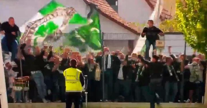El Greuther Fürth, ante el sueño de la salvación. Captura/ESPN