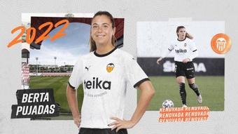 Pujadas llegó al Valencia en el verano de 2019. ValenciaCF