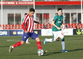 Así quedan los 'play off' de la UEFA Youth League. Twitter/AtletiAcademia