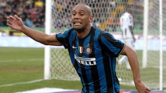 A sus 39 años, Maicon continuará su carrera en San Marino. AFP/Archivo