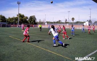 El Málaga se enfrentará al Zaragoza CFF. MálagaCF