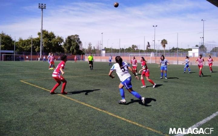 El Málaga se lo pasó en grande en su feudo. MálagaCF
