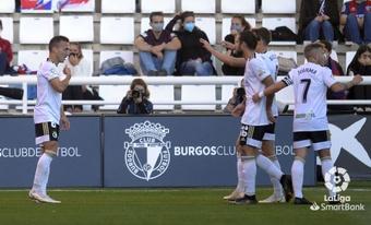 El Burgos venció 3-1 a la SD Huesca. LaLiga