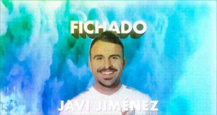 Javi Jiménez, al Málaga. Captura/MálagaCF